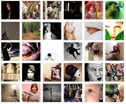 slide show portrait favorites flickr interesting