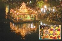 Kapali Kovil Theppam - Float Festival in Mylapore, Chennai, Madras Kapaleeswarar Temple