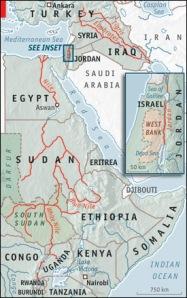 Global Worldwide water relations