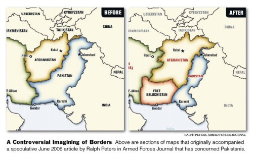 A Controversial Imagining of Borders