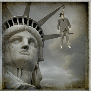 Statue-of-liberty-suicide-finance-USA-America-Suicide