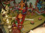 Main golu- Lord Murga- Kapaleeswarar temple.