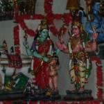 Main Golu- Parvathi giving Gnana paal to Sammandar-Kapaleeswarar temple.