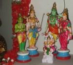 Main Golu- Ramar set- Kapaleeswarar temple.
