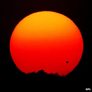 Planet Venus is set to move across the face of the Sun as viewed from Earth.