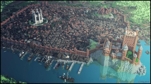 Minecraft_Large_Fortress_Buildings_Game_Of_thrones_Westeros_Kingdoms
