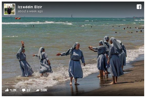 Twitter_Imams_Nuns_Izzedin Elzir_Christian_Beach_Dress_Burkini_Jesus