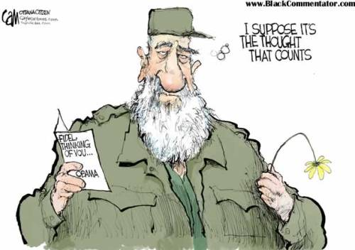 fidel_castro_cartoon_wilted_flower_thought_socialism